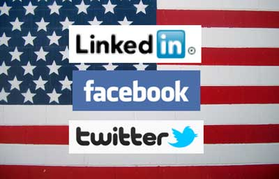 Flaf of social media