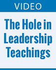 There s a Big Hole in Leadeership